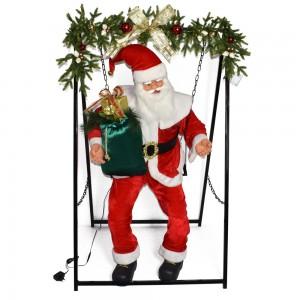 Babbo Natale si dondola...