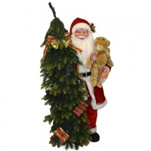 Babbo Natale con  Albero,...