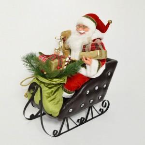 Babbo Natale su Slitta con...