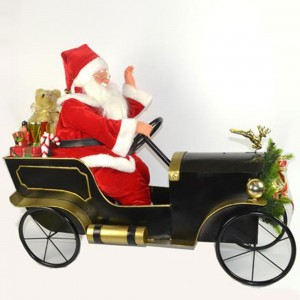 Babbo Natale consegna i...