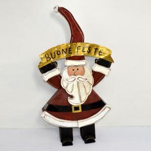Babbo Natale in Legno con...