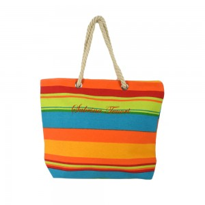 Borsa Canvas Con Manico In...