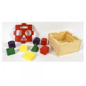 Cubo Didattico In Legno,...