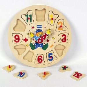 Orologio In Legno, Puzzle...
