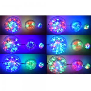 Set Tre Palle Luminose...