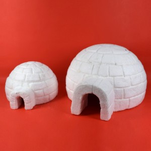 Igloo Set 2Pz In Polistirolo