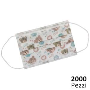 2000 Mascherine Bambini 5...